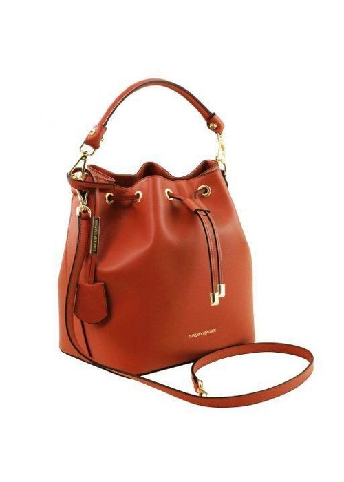 Tuscany Leather Tuscany LeatherVittoria Leather Secchiello Bag