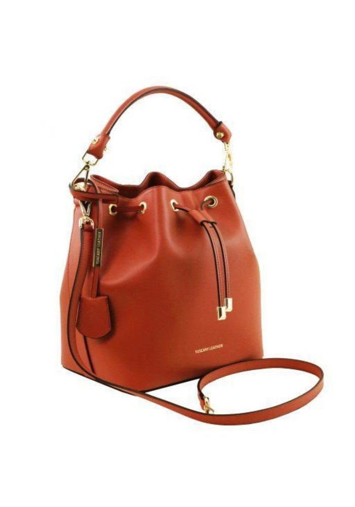 Tuscany LeatherVittoria Leather Secchiello Bag