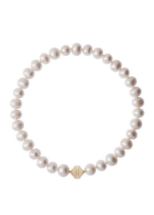 Clara Williams Clara Williams Classic Freshwater Potato Pearl Necklace