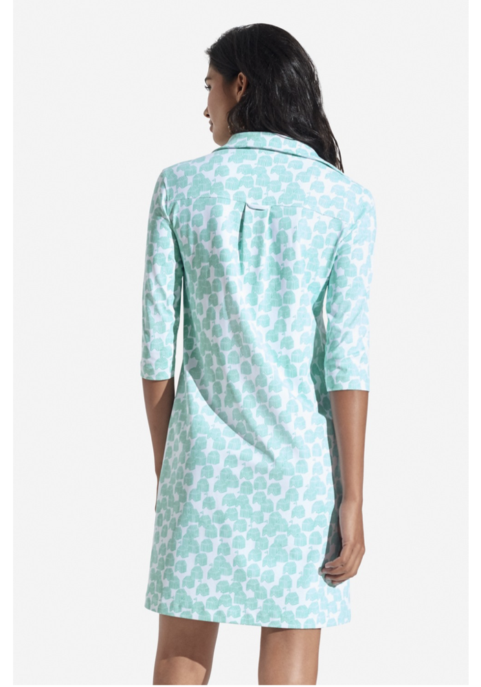 Persifor Winpenny Dress - Cabana