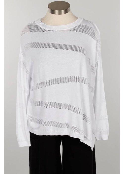 PLANET by Lauren G Planet Illusion Knit Shirt