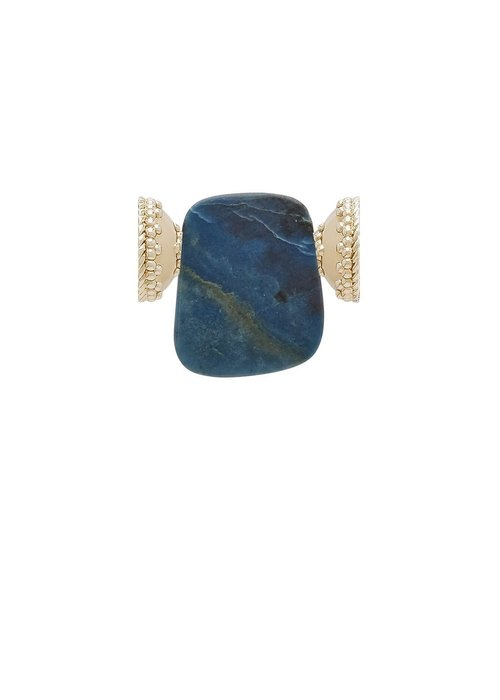 Clara Williams Trolite Stone Slice Centerpiece