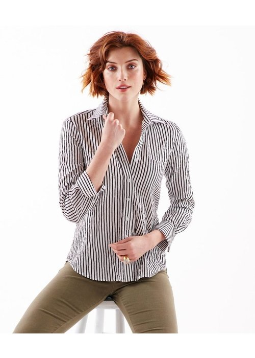 Finley Shirts Finley Alex Shirt in Textured Stripe Fabric