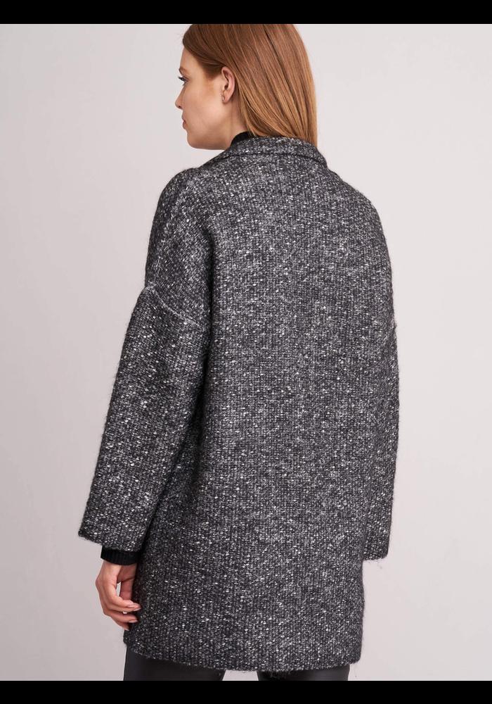 Repeat Tweed Two Button Coat 51% Cotton, 13% Alpaca, 13% Acrylic, 12% Wool, 11% Nylon