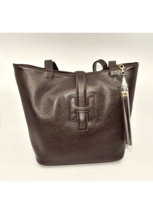 Stephano Bravo Italian Made Designer Inspired Bag from Stefano Bravo - Chocolate