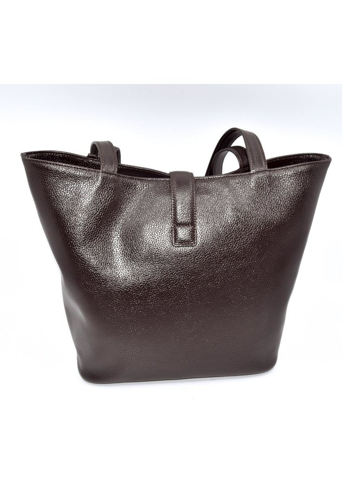 Italian Made Designer Inspired Bag from Stefano Bravo - Chocolate