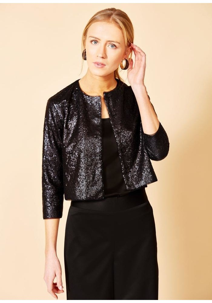 Abbey Glass Bailey Jacket in Sequins