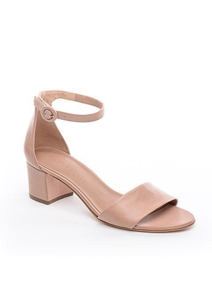 "Bernado Belinda 2"" Block Heel Leather Sandal."