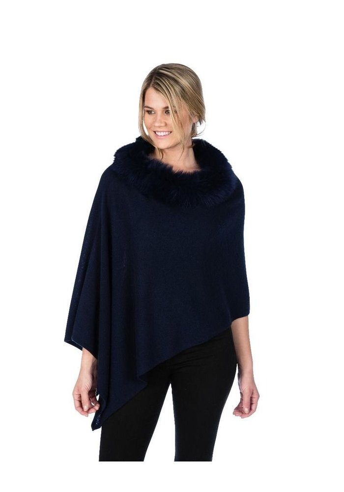 Claudia Nicole Luxe Windchill Fox Trim Topper