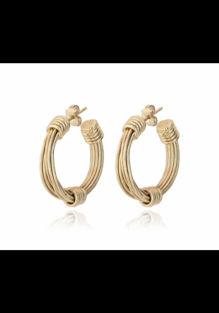 Gas Bijoux Earrings, Ariane