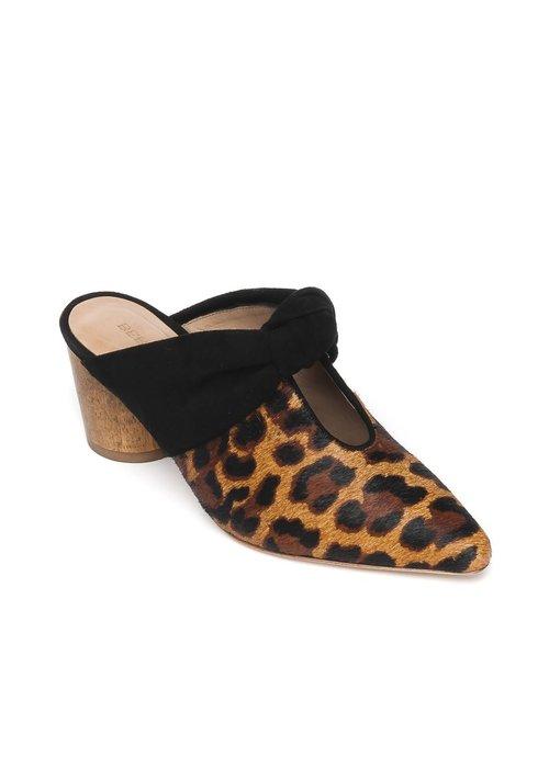 Bernardo Bernado Finley Leopard Pointed Toe Mule