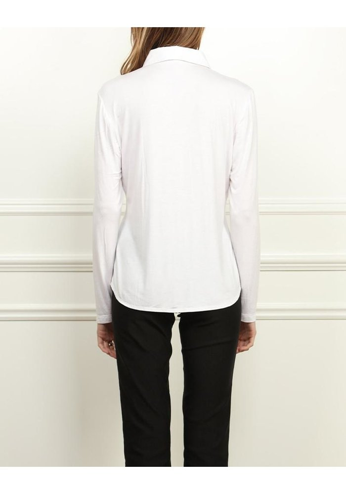 Hinson Wu Jamie, Long Sleeve Fitted Shirt