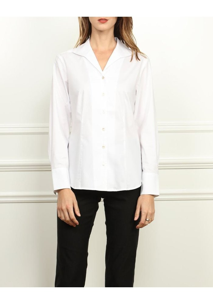 Hinson Wu Donna Classic Fit, Wing Collar