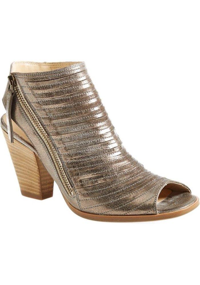 Paul Green Cayenne Leather Peep Toe Sandal