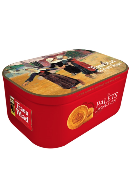 French Farm Palet VIP Red Tin, Butter Cookies