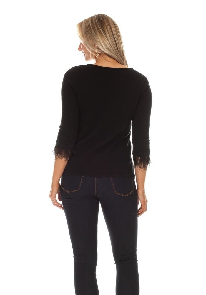 Duffield Lane Florence Feather Sweater