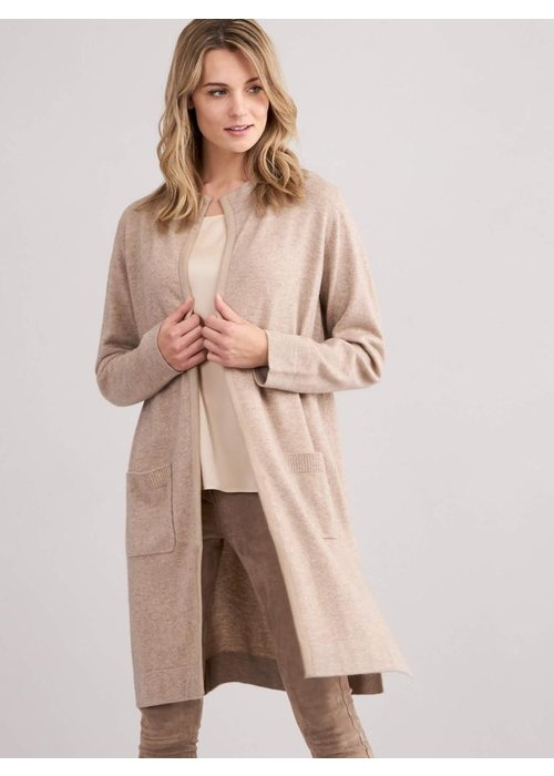 Repeat Cashmere Repeat Suede Trim Duster