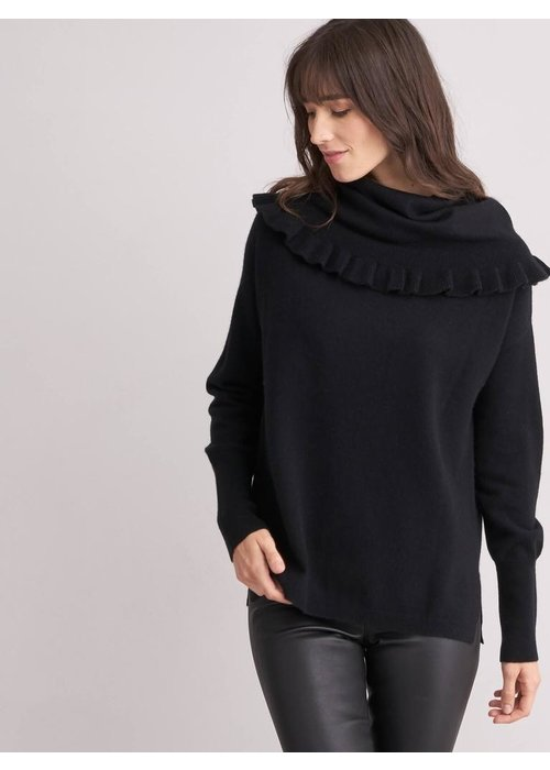 Repeat Cashmere Repeat Ruffle Cowl Sweater