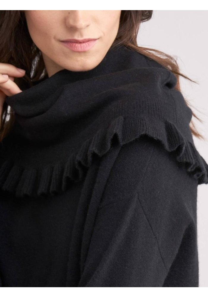 Repeat Ruffle Cowl Sweater