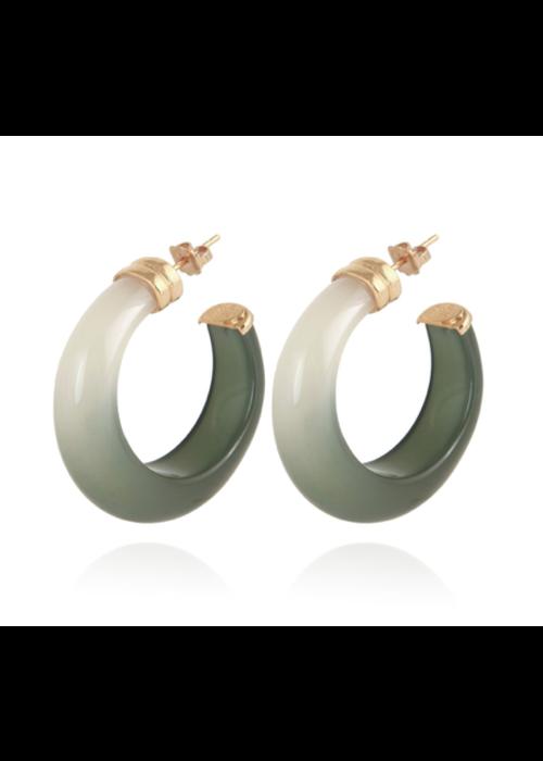 Gas Bijoux Gas Bijoux Earrings, Abalone