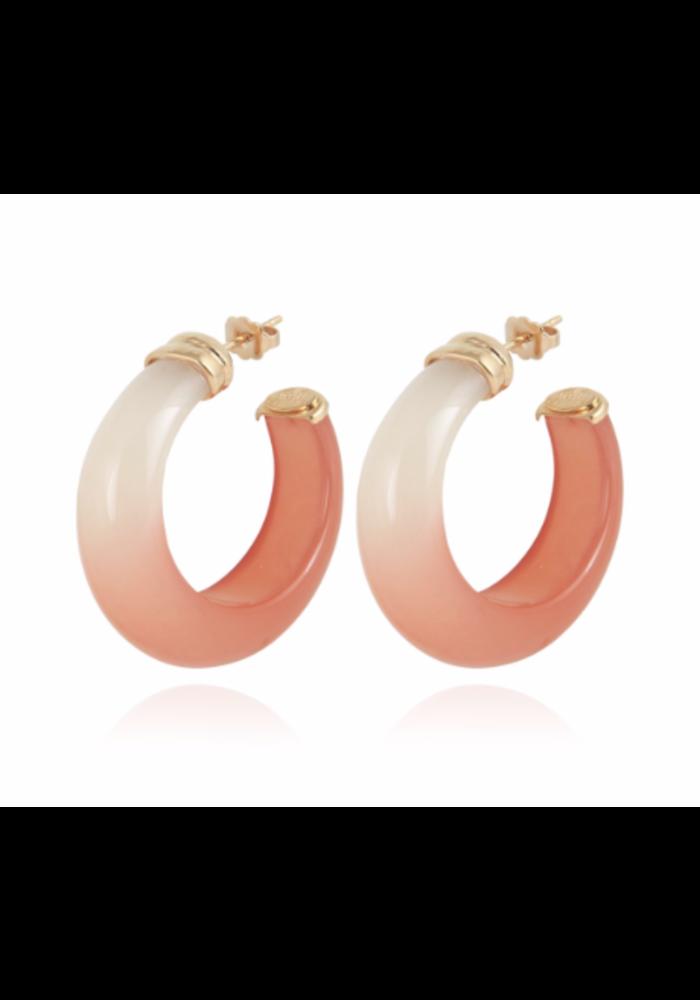 Gas Bijoux Earrings, Abalone