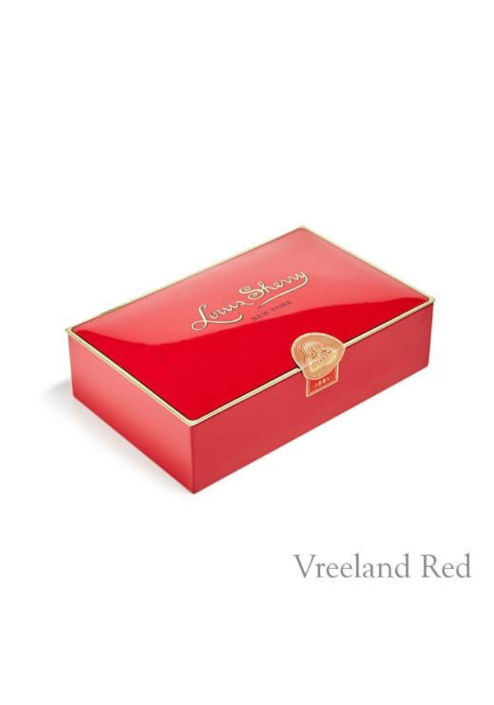 Louis Sherry Case of 12 - Piece Vreeland Red