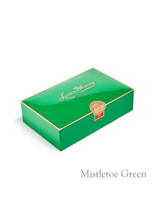 Louis Sherry Louis Sherry Case of 12 - Piece Mistletoe Green