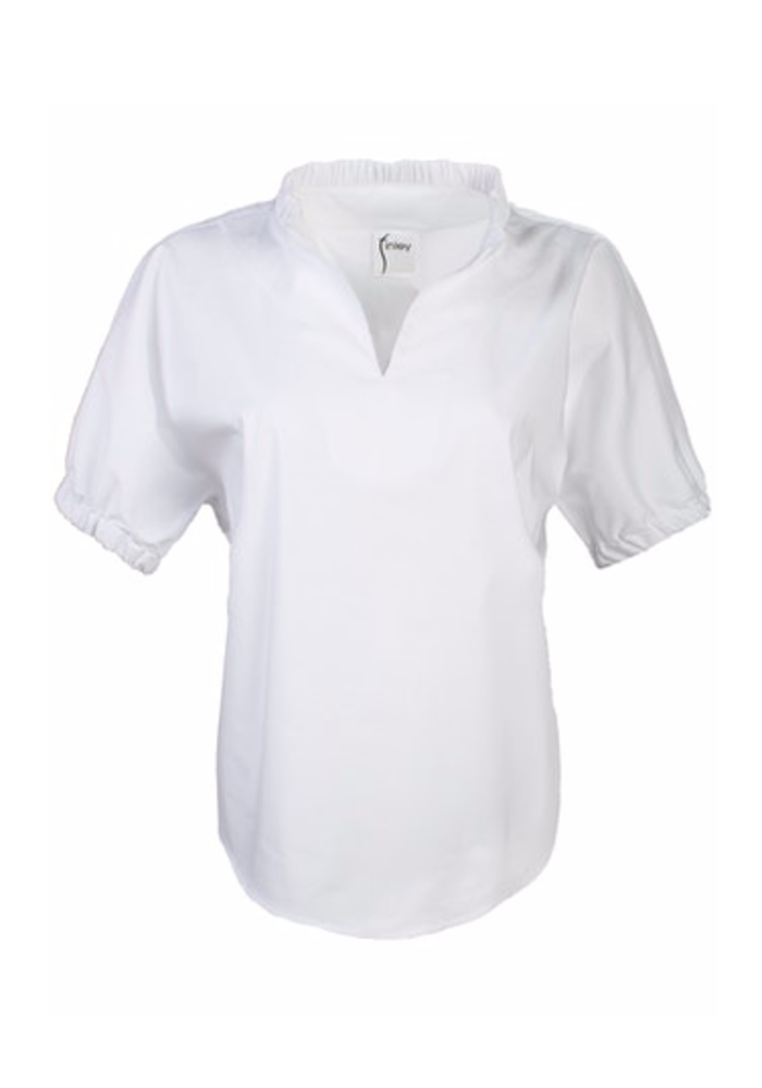 Solid Emerson Top 60% Cotton, 34% Polyester, 6% Spandex