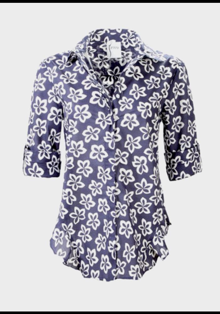 Finley Shirts Agetha Shirt in Floral Medallion