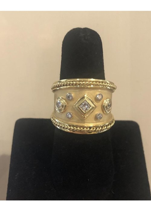 Fine Jewelry Mazza Ring 14K Gold and .51 ct Diamond