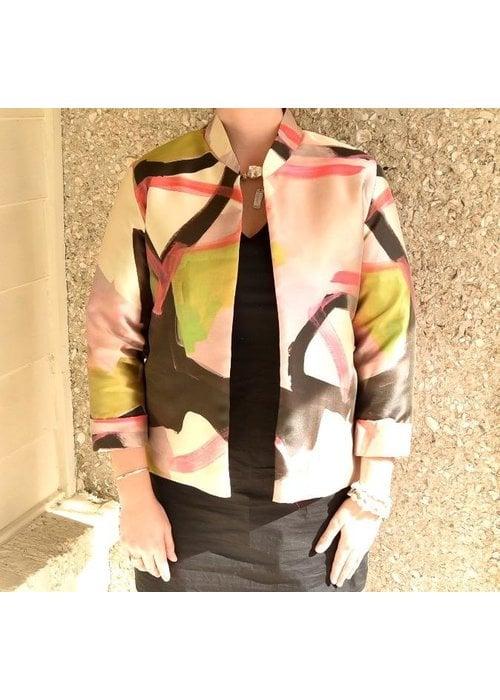 Caroline Rose Caroline Rose Boxy Jacket Multi