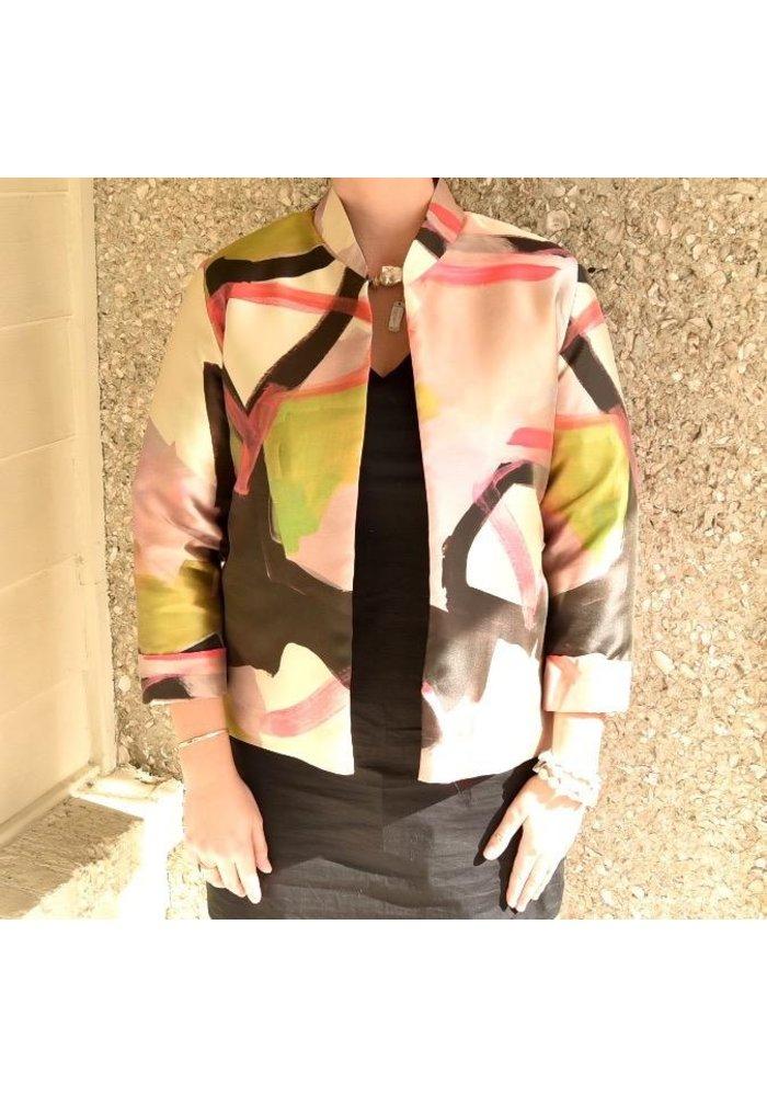 Caroline Rose Boxy Jacket Multi