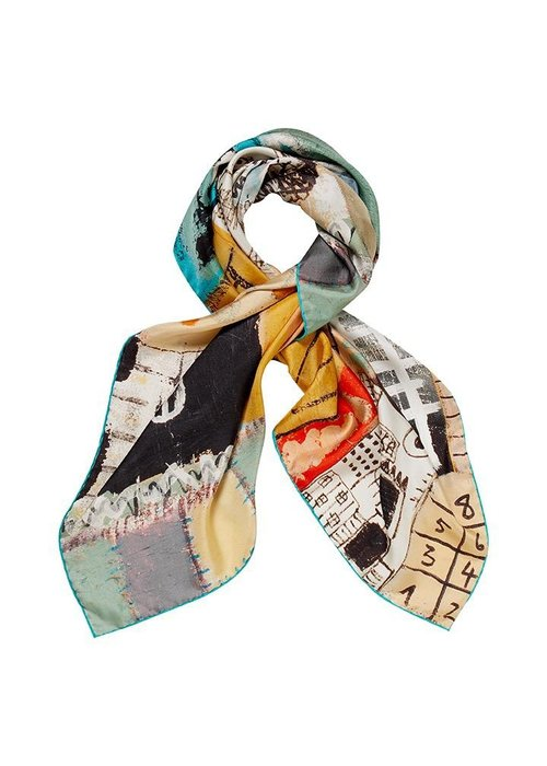English Weather English Weather Silk Scarf