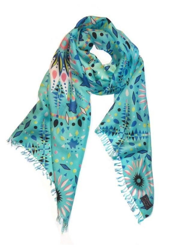Cashmere Wrappings Kaleidescope Scarf