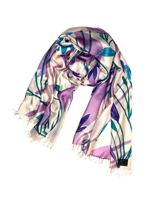 SCARVES Cashmere Wrappings Silhouette