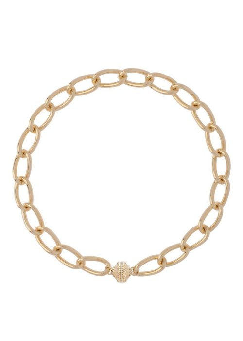 CWC Jewelry Clara Williams LaSalle 14k plated necklace