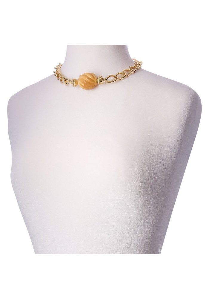 Clara Williams LaSalle 14k plated necklace
