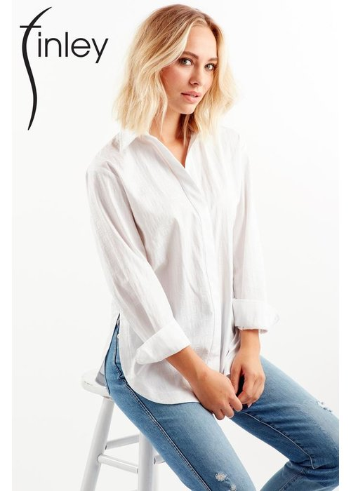 Finley Shirts Finley Shirts LOVE Jacquard Boyfriend Shirt