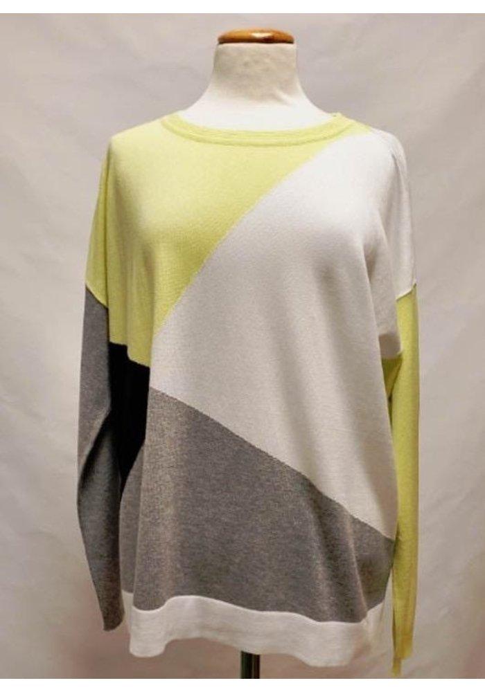 Planet Mod Argyle Sweater