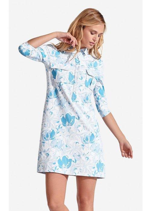 Persifor Winpenny Dress, Tigerlily pattern