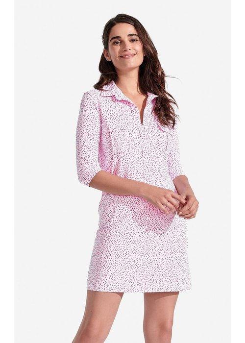 Persifor Winpenny Dress, Speckled pattern