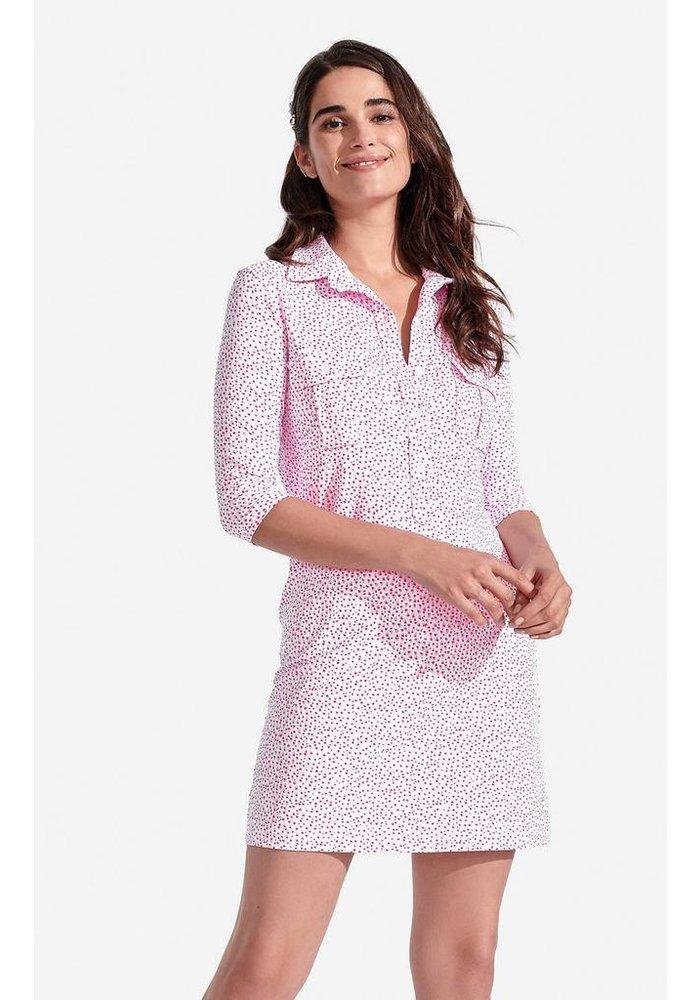 Winpenny Dress, Speckled pattern