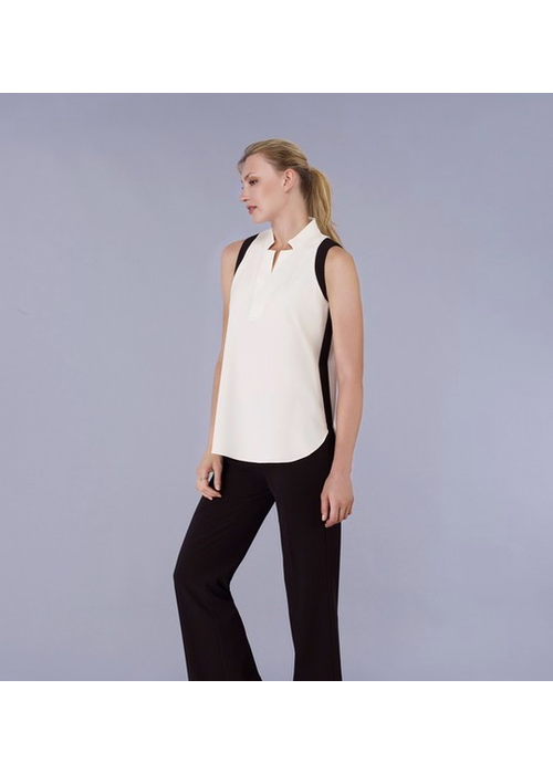 Estelle & Finn Sleeveless 2 tone Shirt