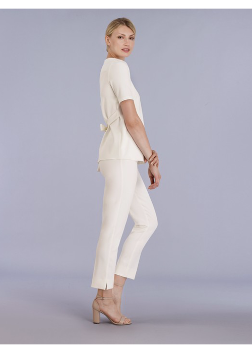Estelle & Finn Front Zip Ankle Pants