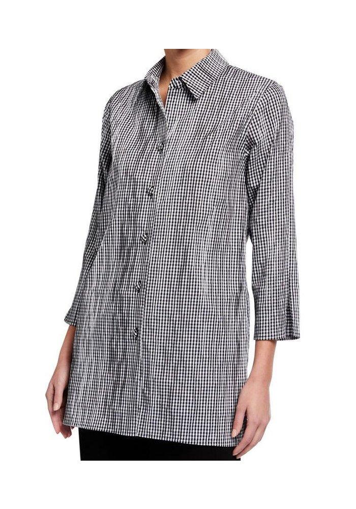 Caroline Rose Tunic Shirt Gingham