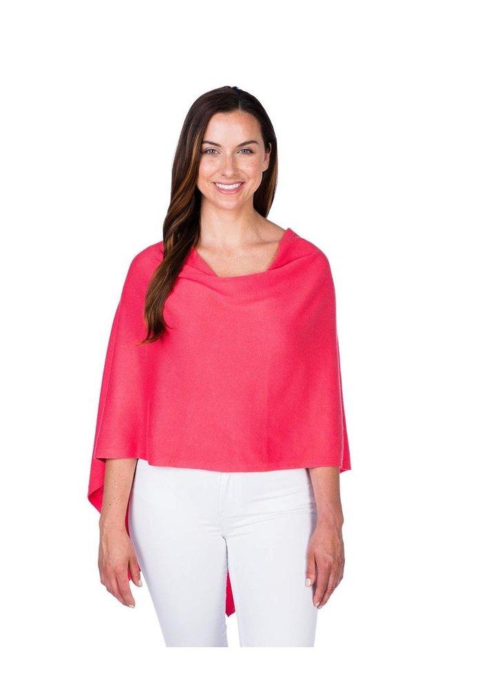 Alashan Trade Wind Cotton/Cashmere Dress Topper Poncho