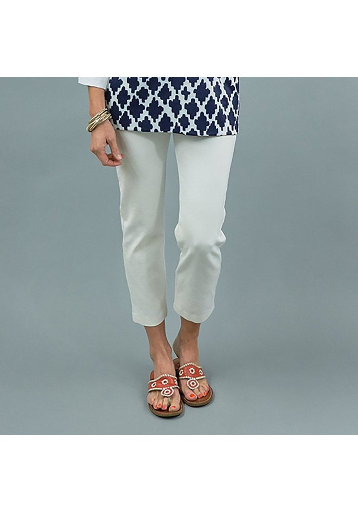 Swizzle Pant in Solid Ponte