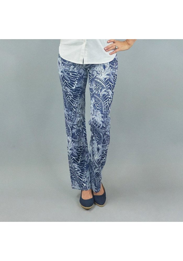 Meister Pant in Feather Pattern