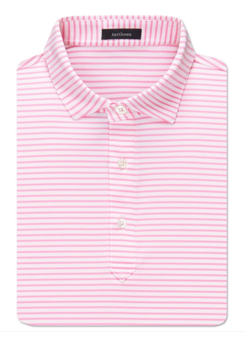 Turtleson Jeff Stripe Performance Polo