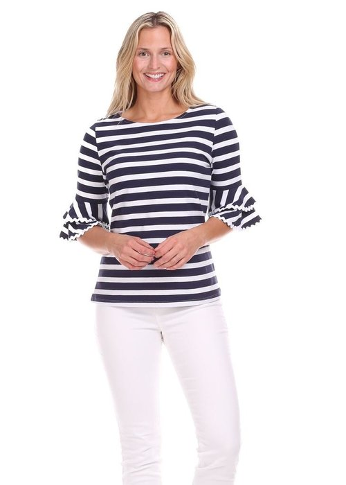 Duffield Lane Zeeland Top with Stripe